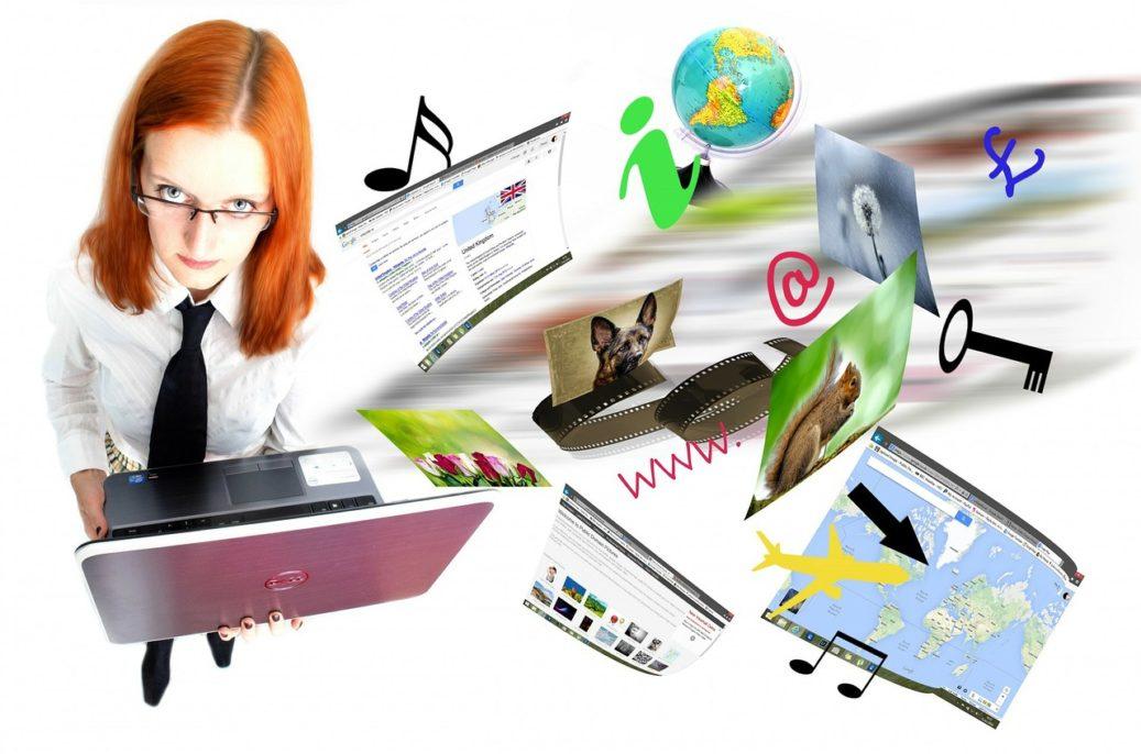 página web de empresas